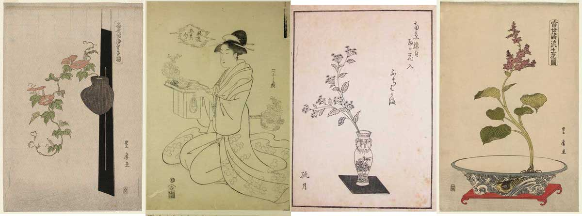 ikebana-estampes