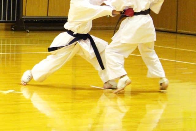 combat de karate