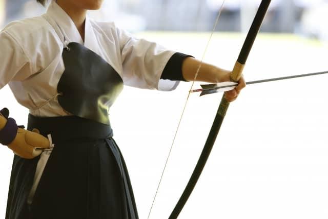 kyudo, arts martiaux japonais
